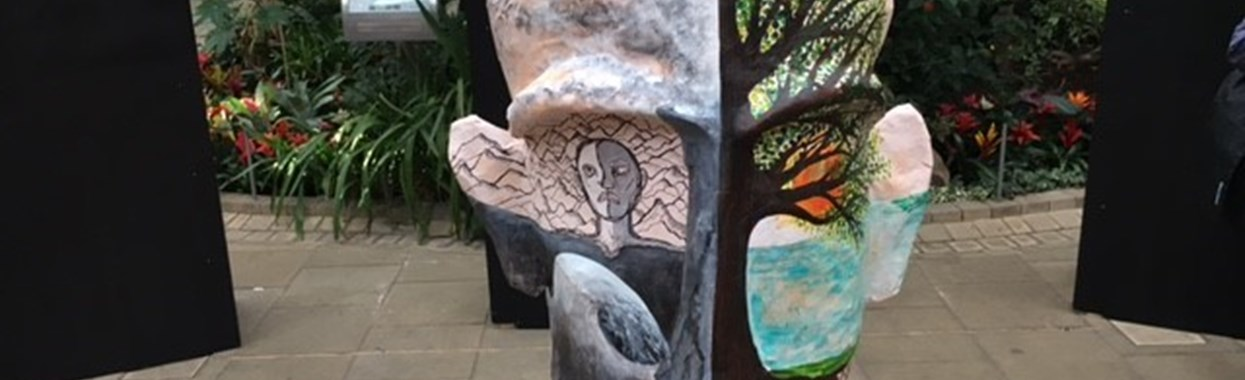 Public Art Exhibition produced in collaboration with homeless service users and local artists