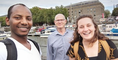 Team buzzing with ideas after Bristol Refugee Rights trip