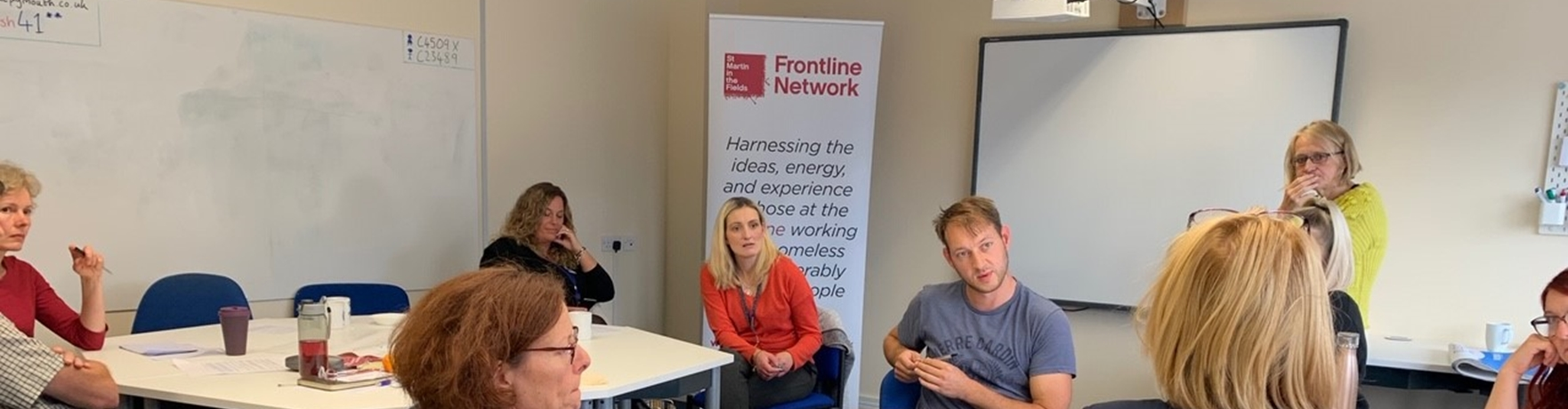 Plymouth Frontline Network Event - How To Access Housing & Related Services