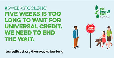 St Martin's Charity Supports the #5WeeksTooLong campaign