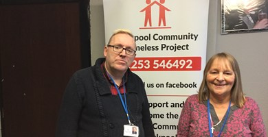 Shadowing Fund: Blackpool Community Homeless Project visits Manchester