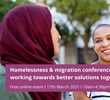 Homelessness & migration conference – working towards better solutions together